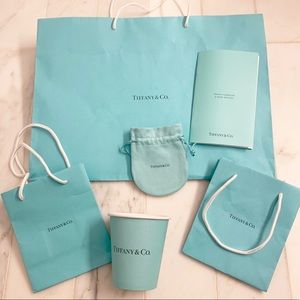 Tiffany & Co bundle!!! Plus Jewelry care handbook